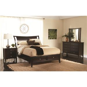 Aspenhome Kensington  Four Piece Queen Bedroom