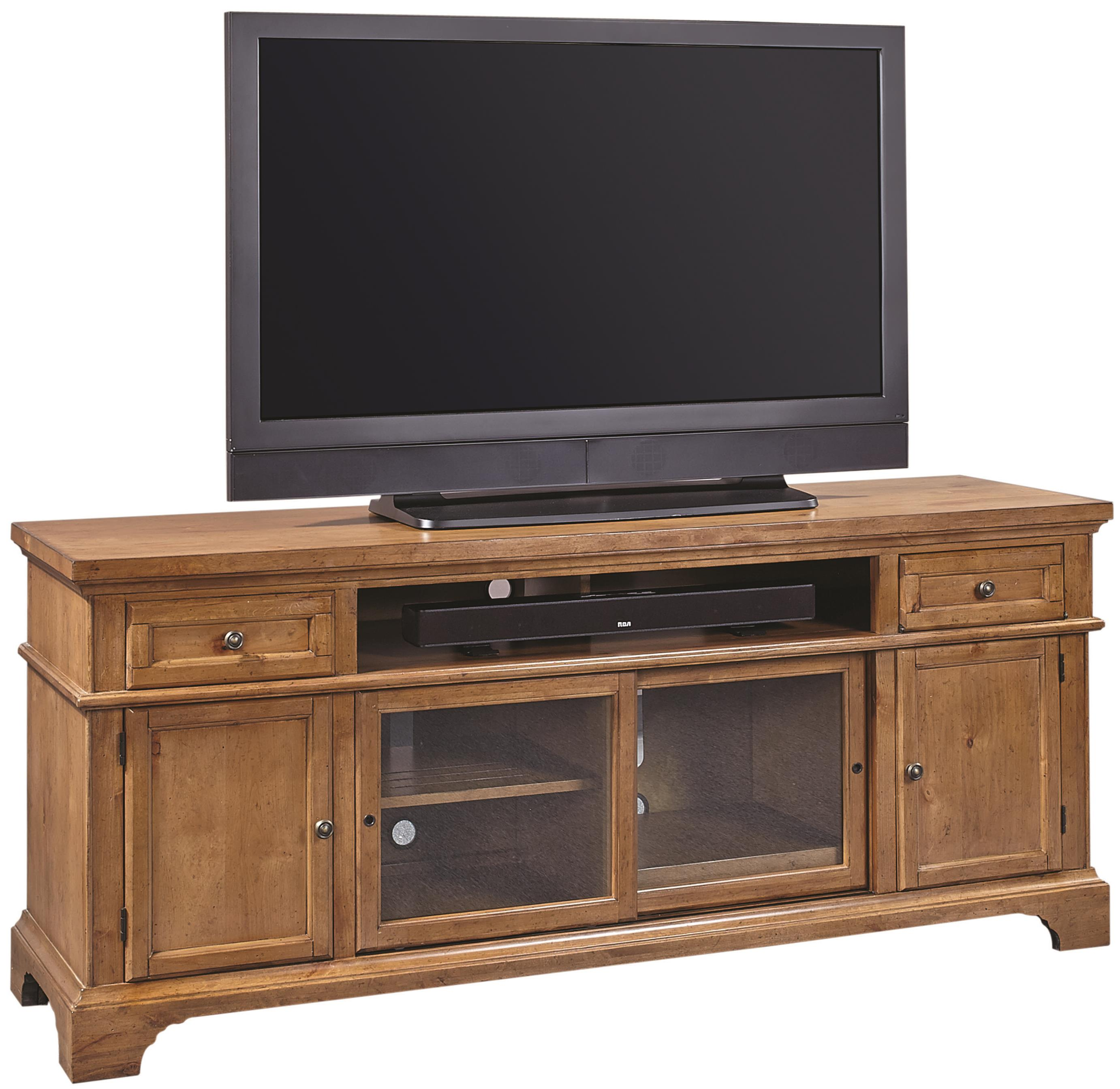 "Aspenhome Alder Creek 75"" Console  - Item Number: I09-272"