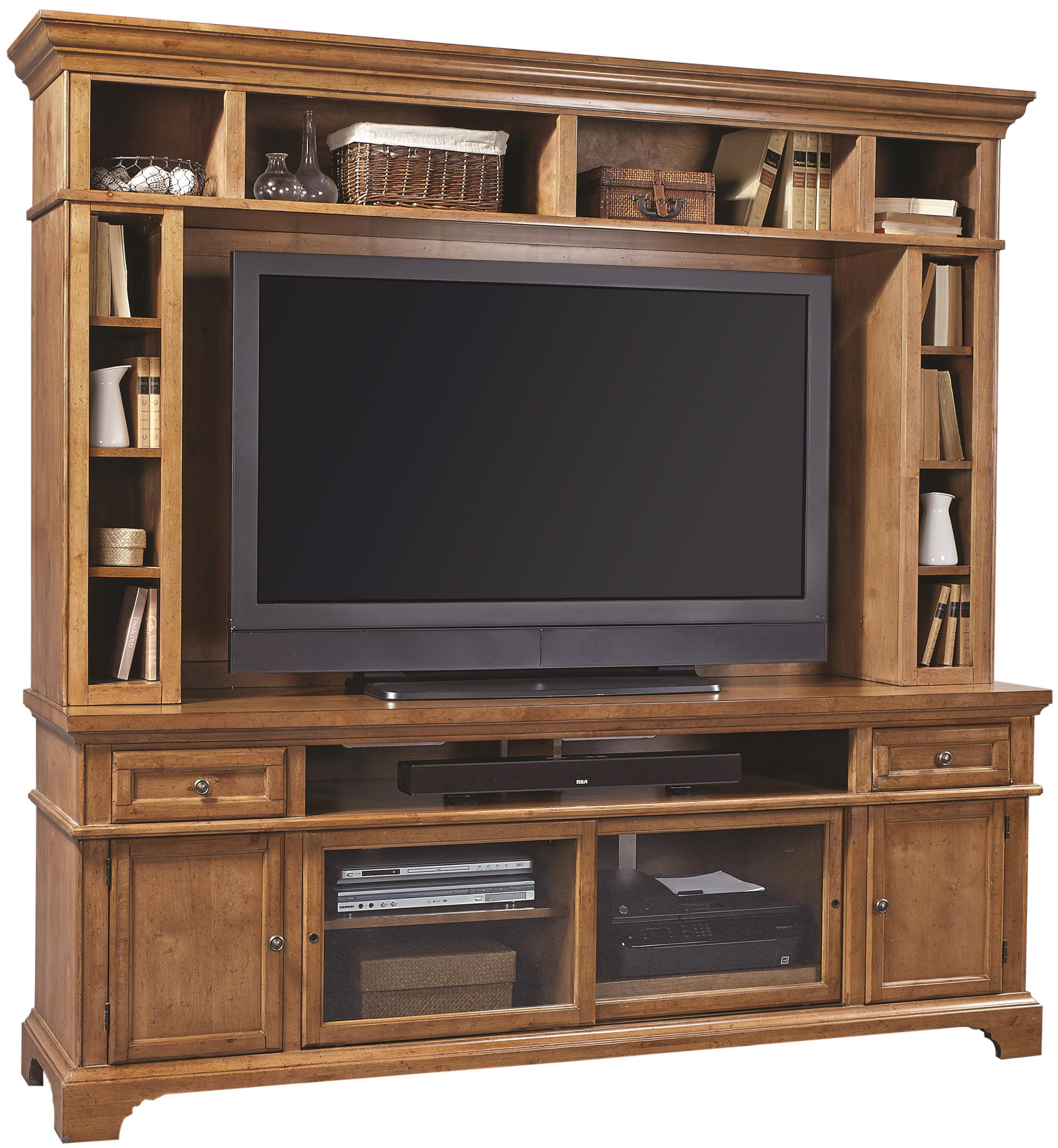"Aspenhome Alder Creek 84"" Console and Hutch - Item Number: I09-284+H"