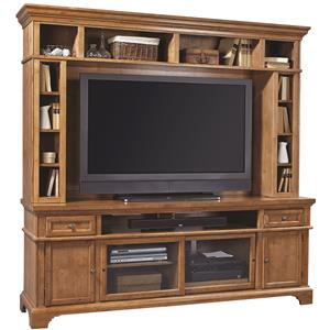 "Aspenhome Alder Creek 84"" Console and Hutch"