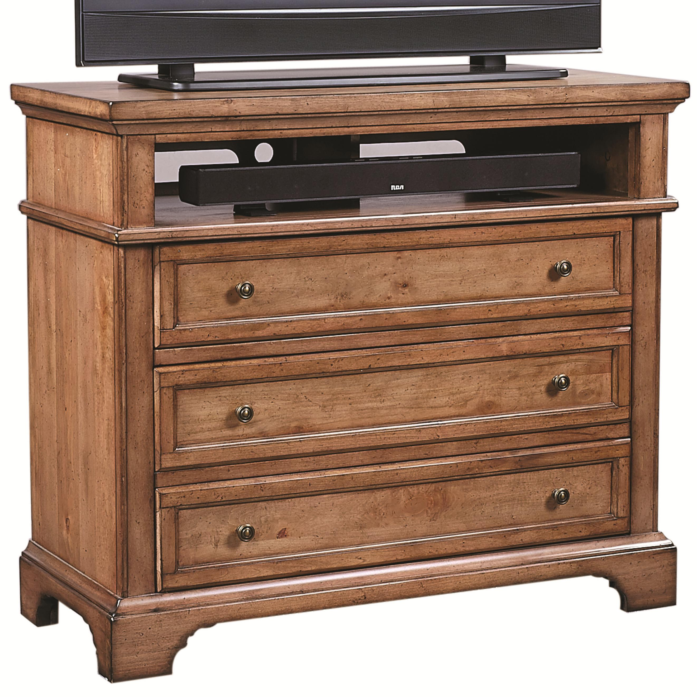 Aspenhome Alder Creek Liv360 Entertainment Chest - Item Number: I09-486
