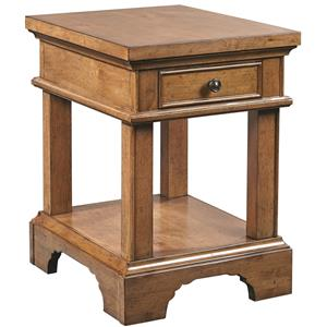 Aspenhome Alder Creek Chairside Table with Power
