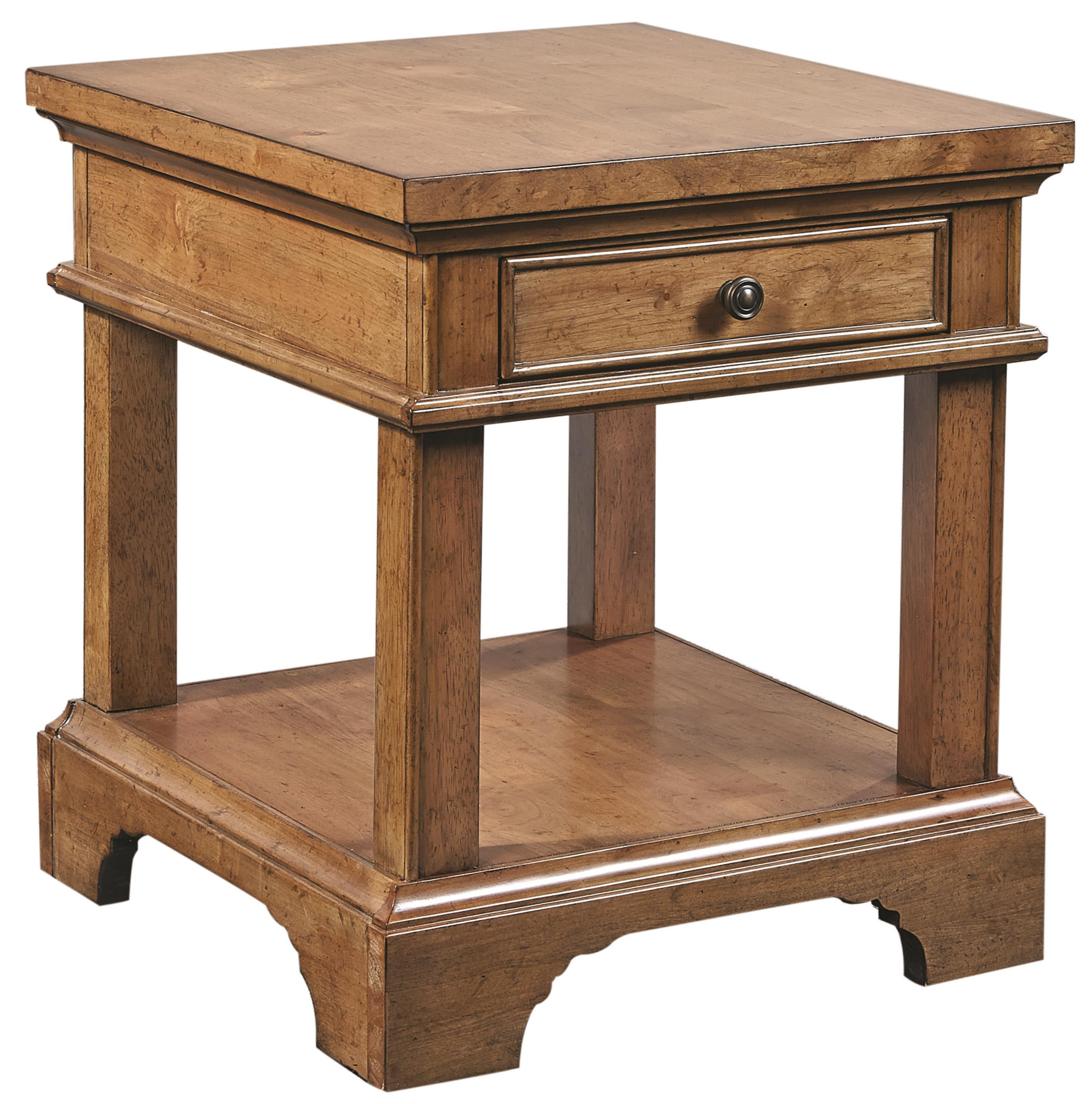 Morris Home Furnishings Walnut Creek Walnut Creek End Table with Power - Item Number: I09-9140