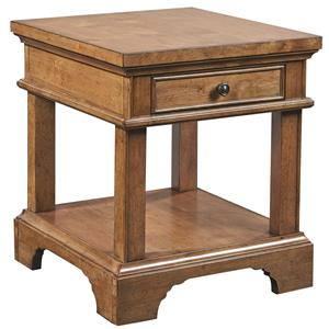 Aspenhome Alder Creek End Table with Power