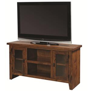 "Hills of Aspen Alder Grove 50"" Console with Doors"