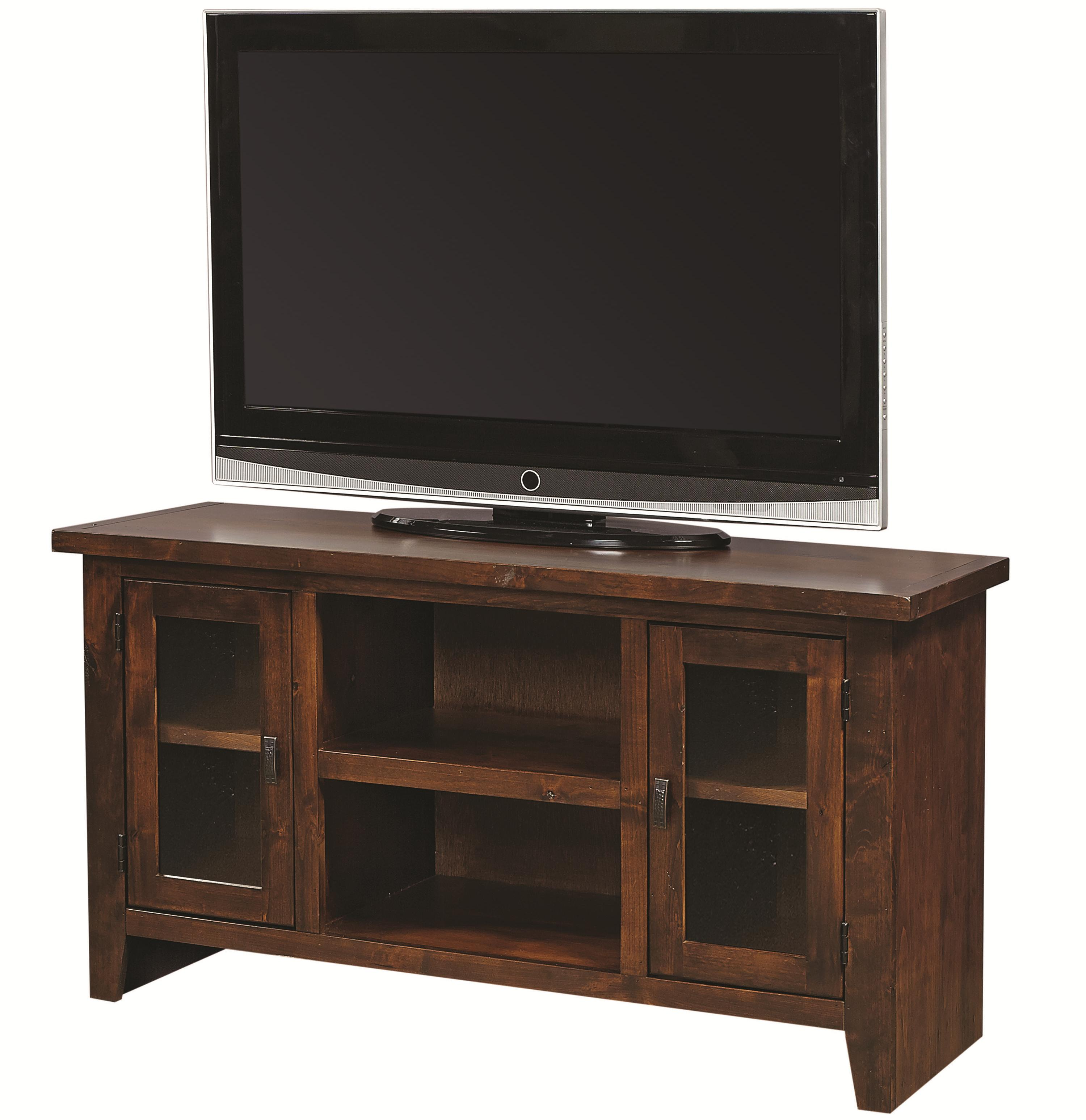 "Aspenhome Alder Grove 50"" Console with Doors - Item Number: DG1050-TOB"