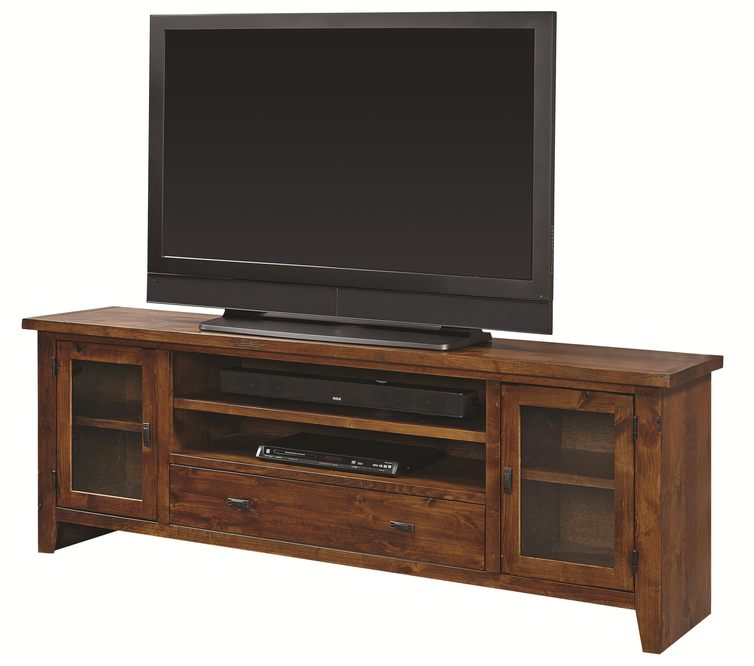 "Aspenhome Alder Grove 76"" Console with Drawer - Item Number: DG1076-FRT"
