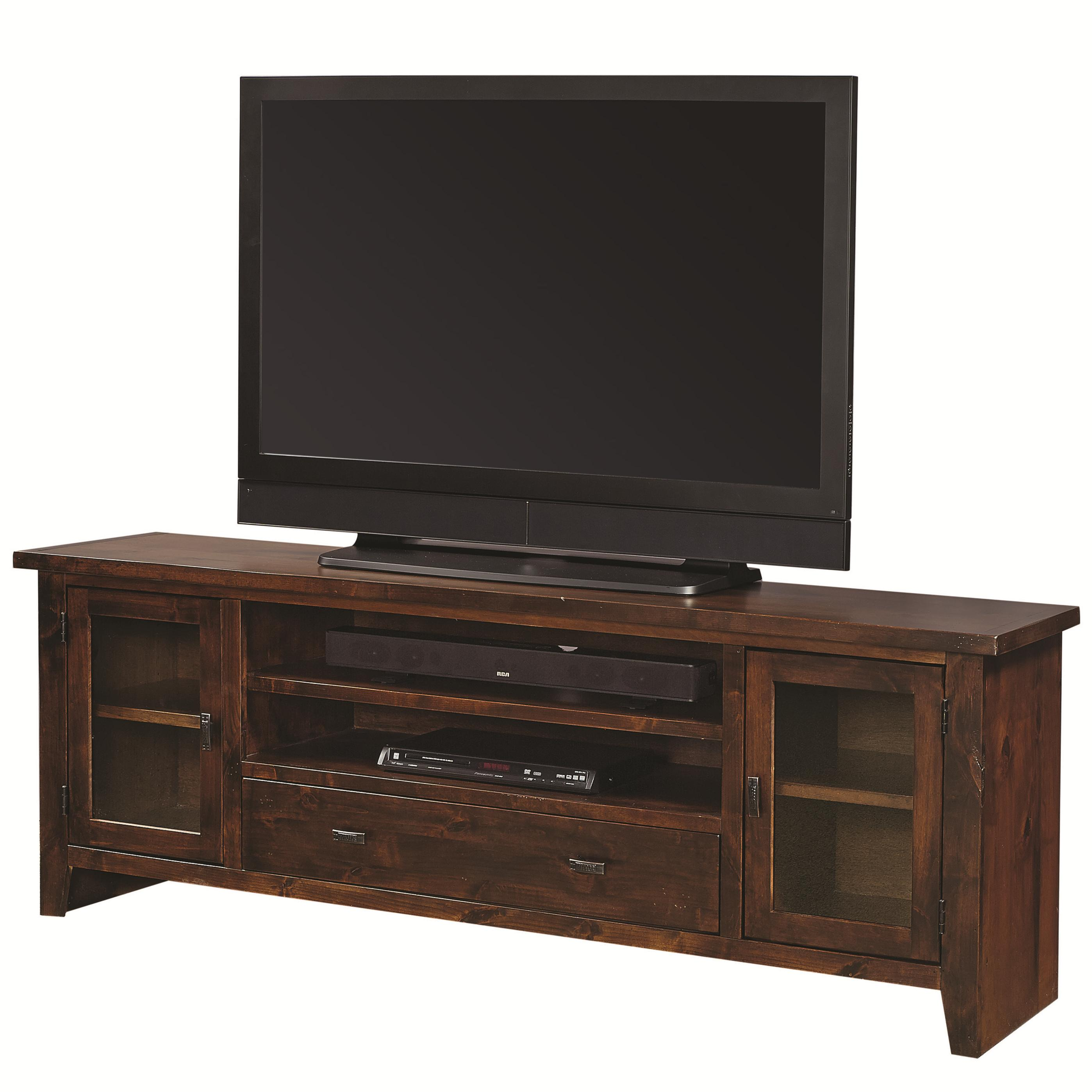 "Aspenhome Alder Grove 76"" Console with Drawer - Item Number: DG1076-TOB"