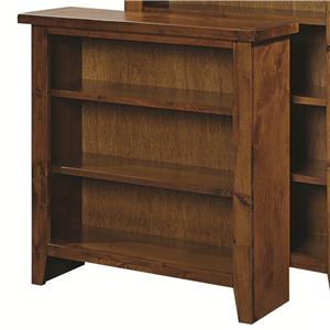 "Highland Court Alder Grove 36"" Height Bookcase with 2 Shelves"