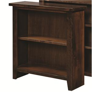 "Aspenhome Alder Grove 36"" Height Bookcase with 2 Shelves"