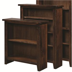 "Morris Home Alder Grove Bookcase 48"" Height with 3 Shelves"