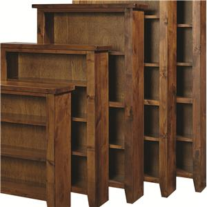 "Morris Home Furnishings Alder Grove Bookcase 60"" Height with 3 Shelves"