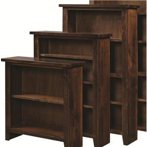 "Morris Home Alder Grove Bookcase 60"" Height with 3 Shelves"