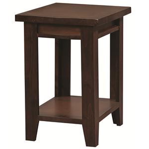 Morris Home Alder Grove Chairside Table