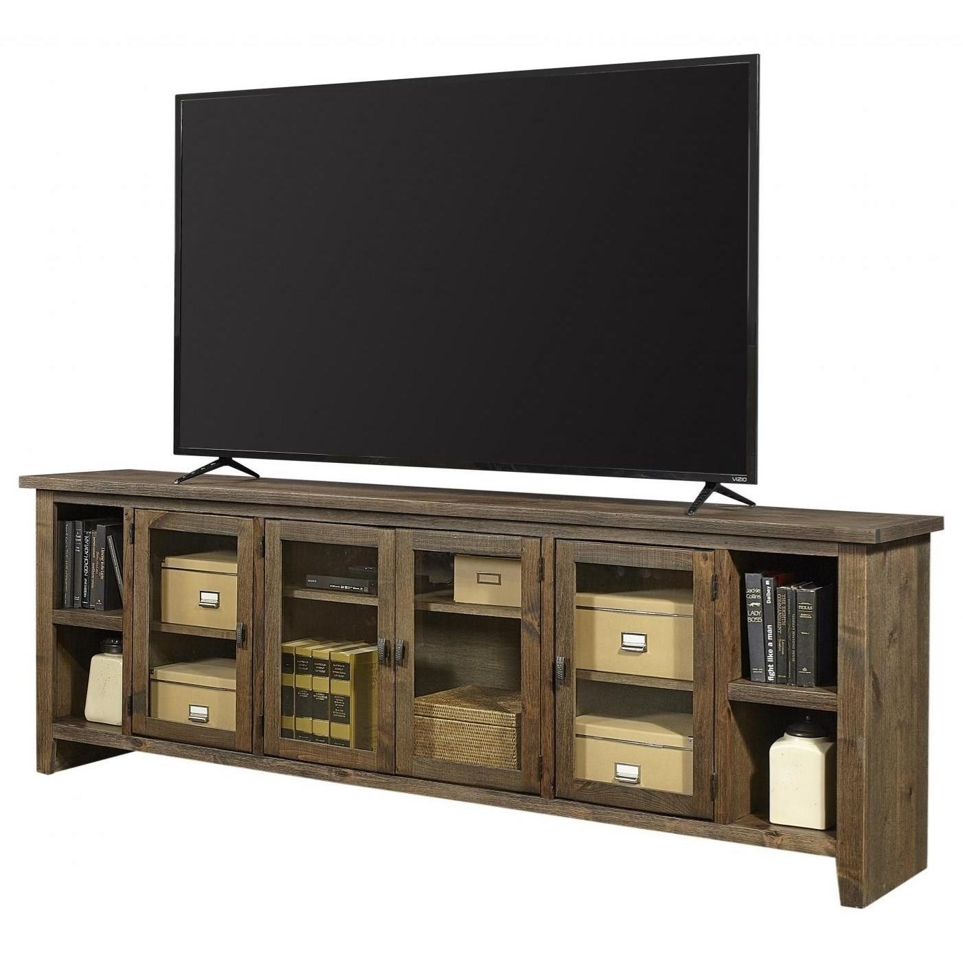 "Alder Grove 84"" Console by Aspenhome at Stoney Creek Furniture"