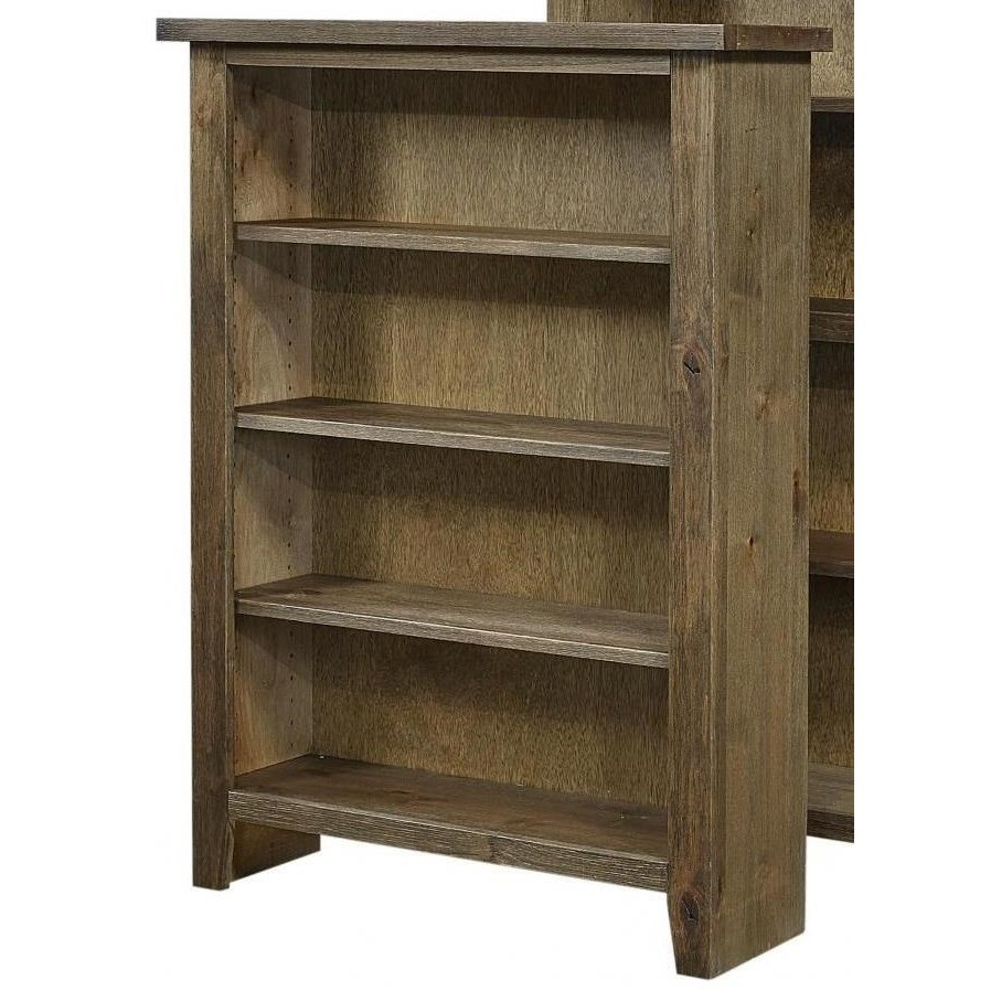 "Alder Grove Bookcase 48"" Height with 3 Shelves by Aspenhome at Walker's Furniture"