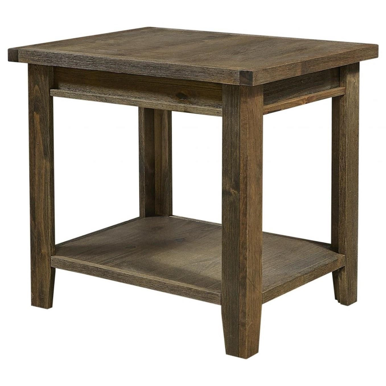 Alder Grove End Table by Aspenhome at Stoney Creek Furniture