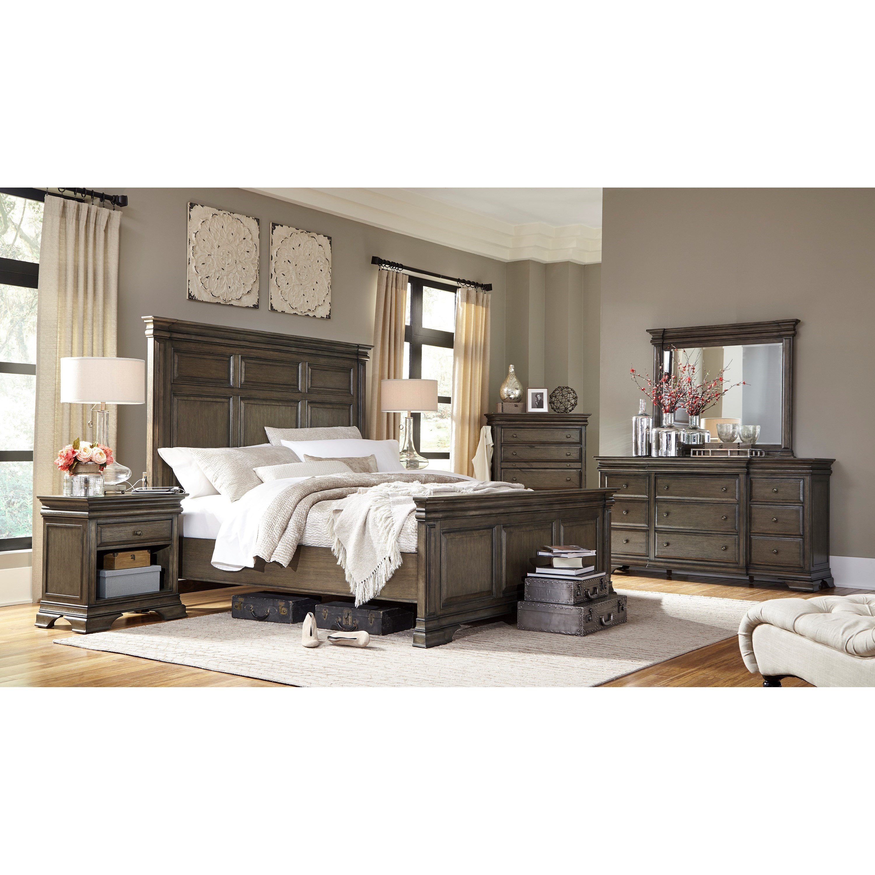 Aspenhome Arcadia Queen Bedroom Group - Item Number: I92 Q Bedroom Group 1