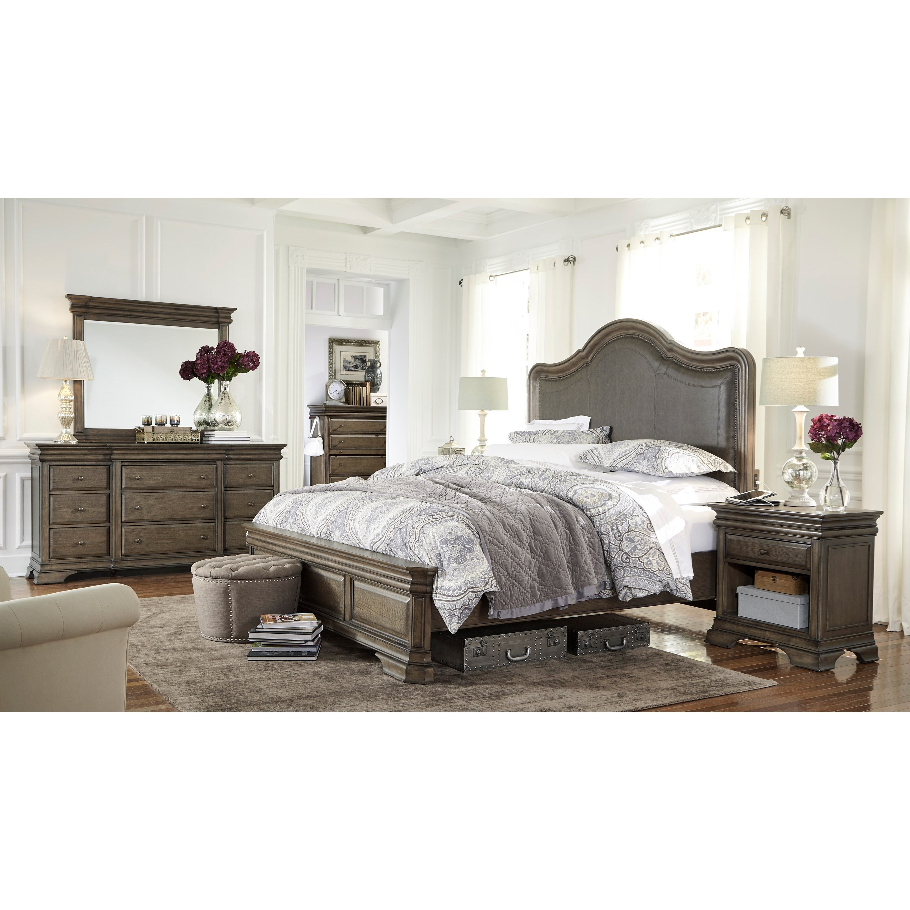 Aspenhome Arcadia King Bedroom Group - Item Number: I92 K Kedroom Group 3