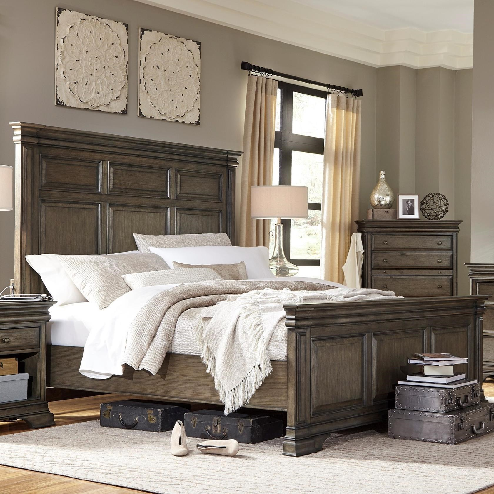 Aspenhome Arcadia Queen Panel Bed - Item Number: I92-412-413-402