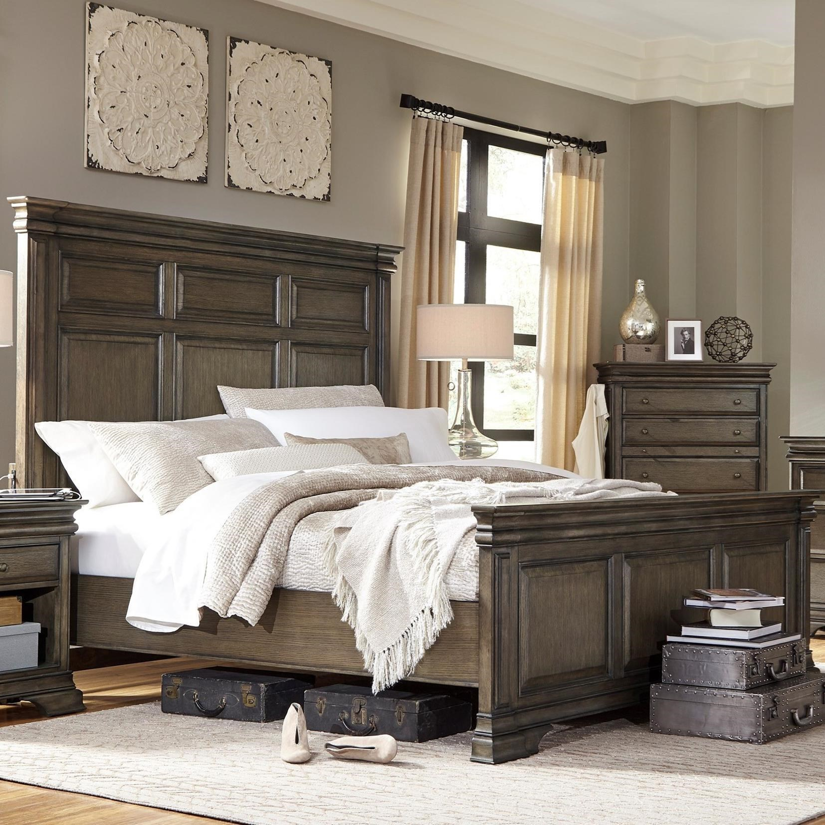 Aspenhome Arcadia King Panel Bed - Item Number: I92-415-416-406