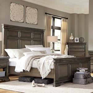 Morris Home Furnishings Arcadia California King Panel Bed