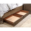 Aspenhome Arcadia King Upholstered Storage Bed with USB Charging Stations