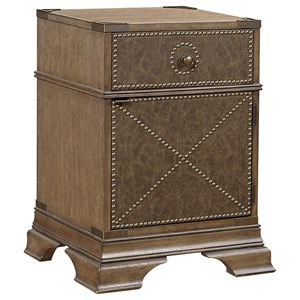 Aspenhome Arcadia Leather Accent Night Stand