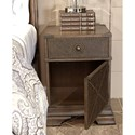Aspenhome Arcadia Leather Accent Nightstand