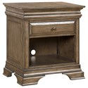Morris Home Furnishings Arcadia 1 Drawer Night Stand - Item Number: I92-451