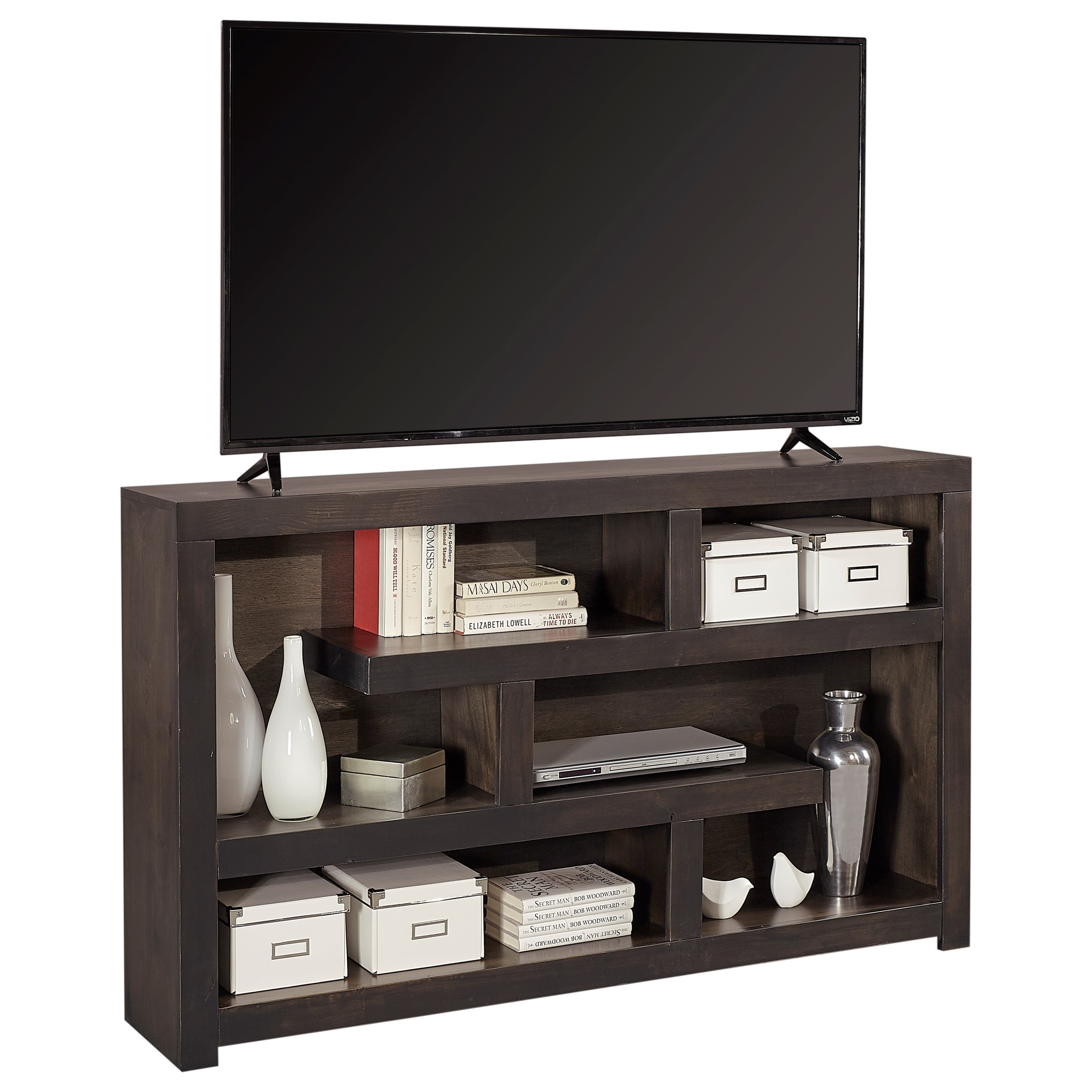 "Avery Loft 60"" TV Console by Aspenhome at Walker's Furniture"