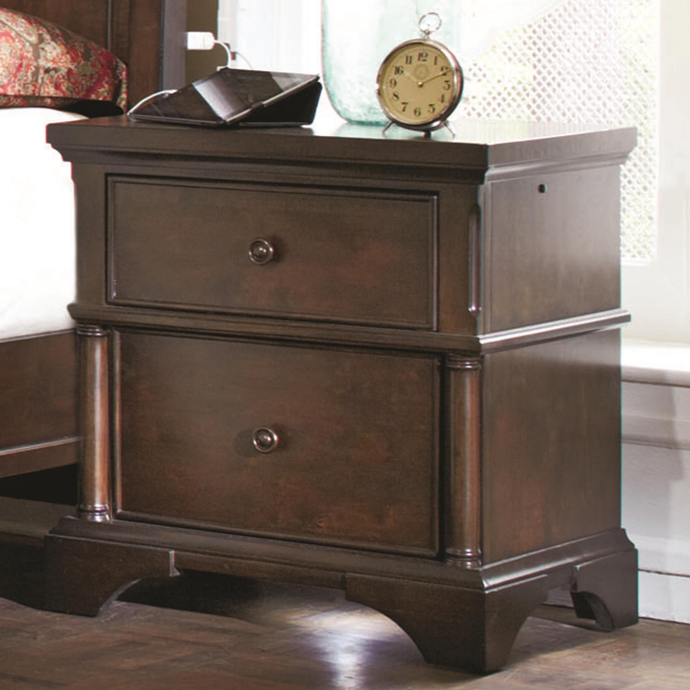 Morris Home Furnishings Banning Banning Nightstand - Item Number: 108-450