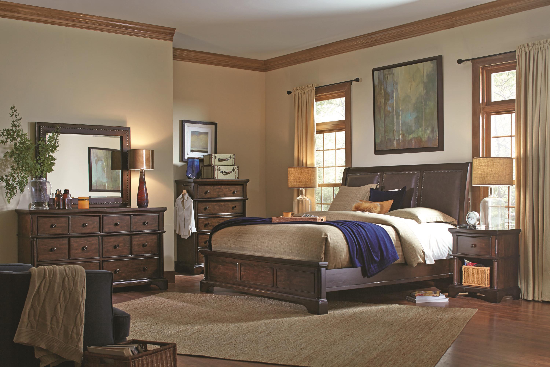 Aspenhome Bancroft King Bedroom Group - Item Number: I08 K Bedroom Group 3