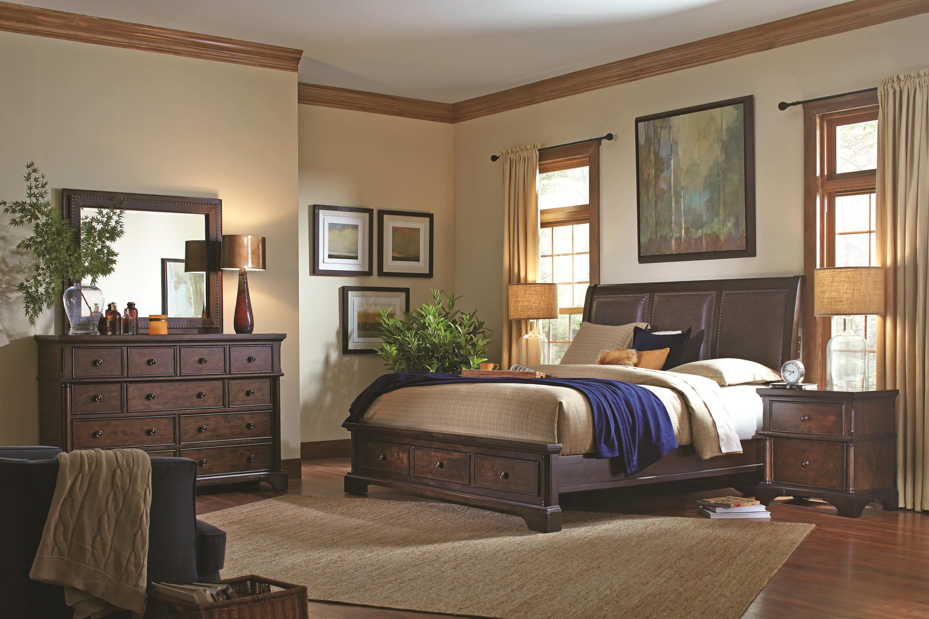 Aspenhome Bancroft Queen Bedroom Group - Item Number: I08 Q Bedroom Group 4