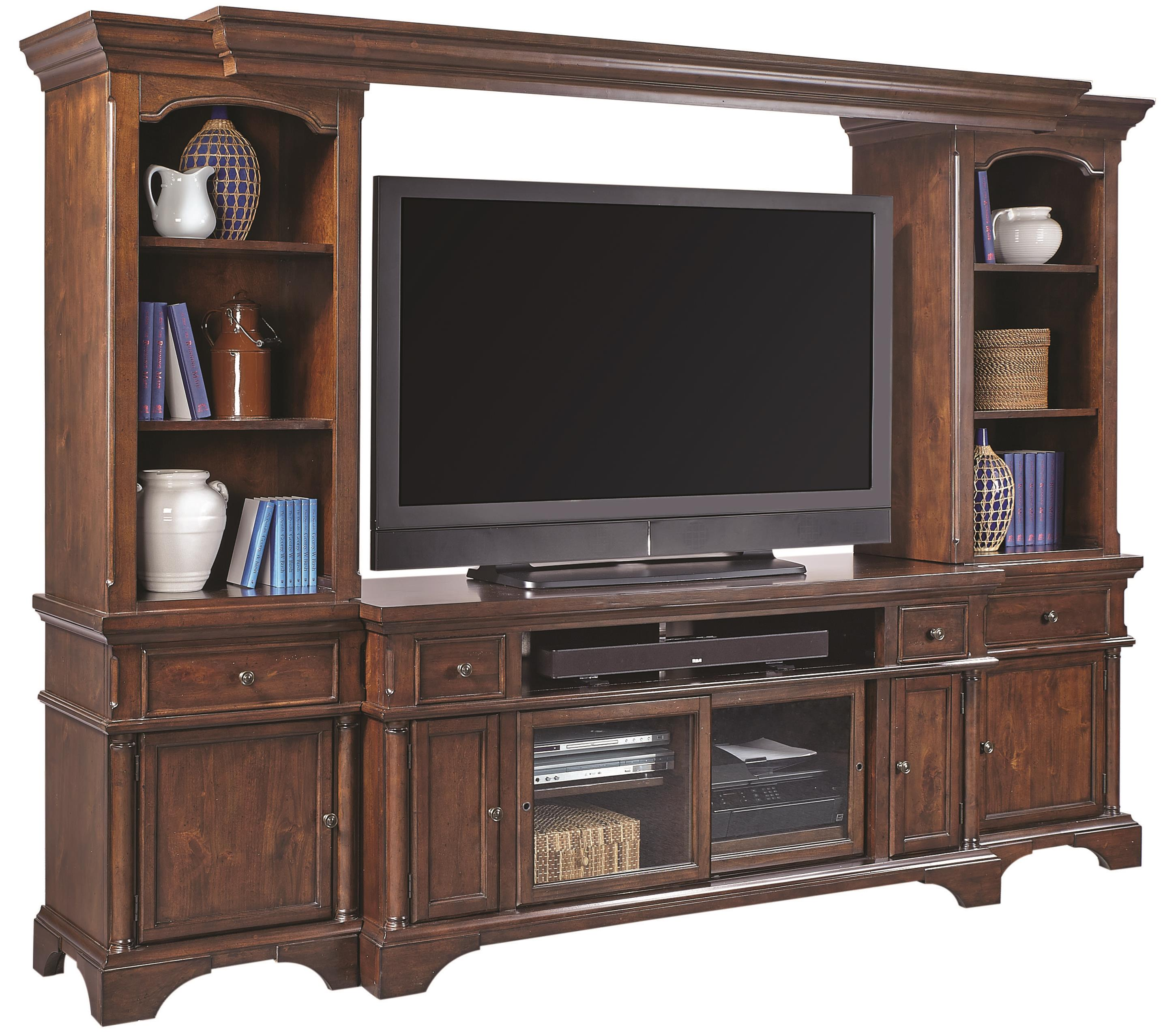"Aspenhome Bancroft 65"" Entertainment Wall - Item Number: I08-264+225+229+210"