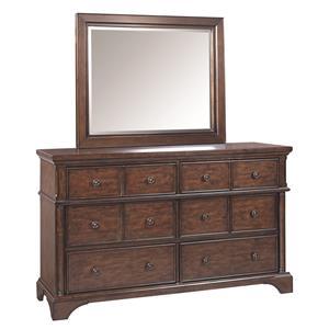 Aspenhome Bancroft Dresser and Mirror