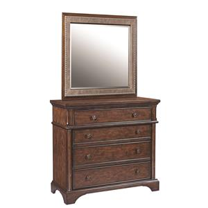 Aspenhome Bancroft Liv360 Entertainment Chest and Mirror