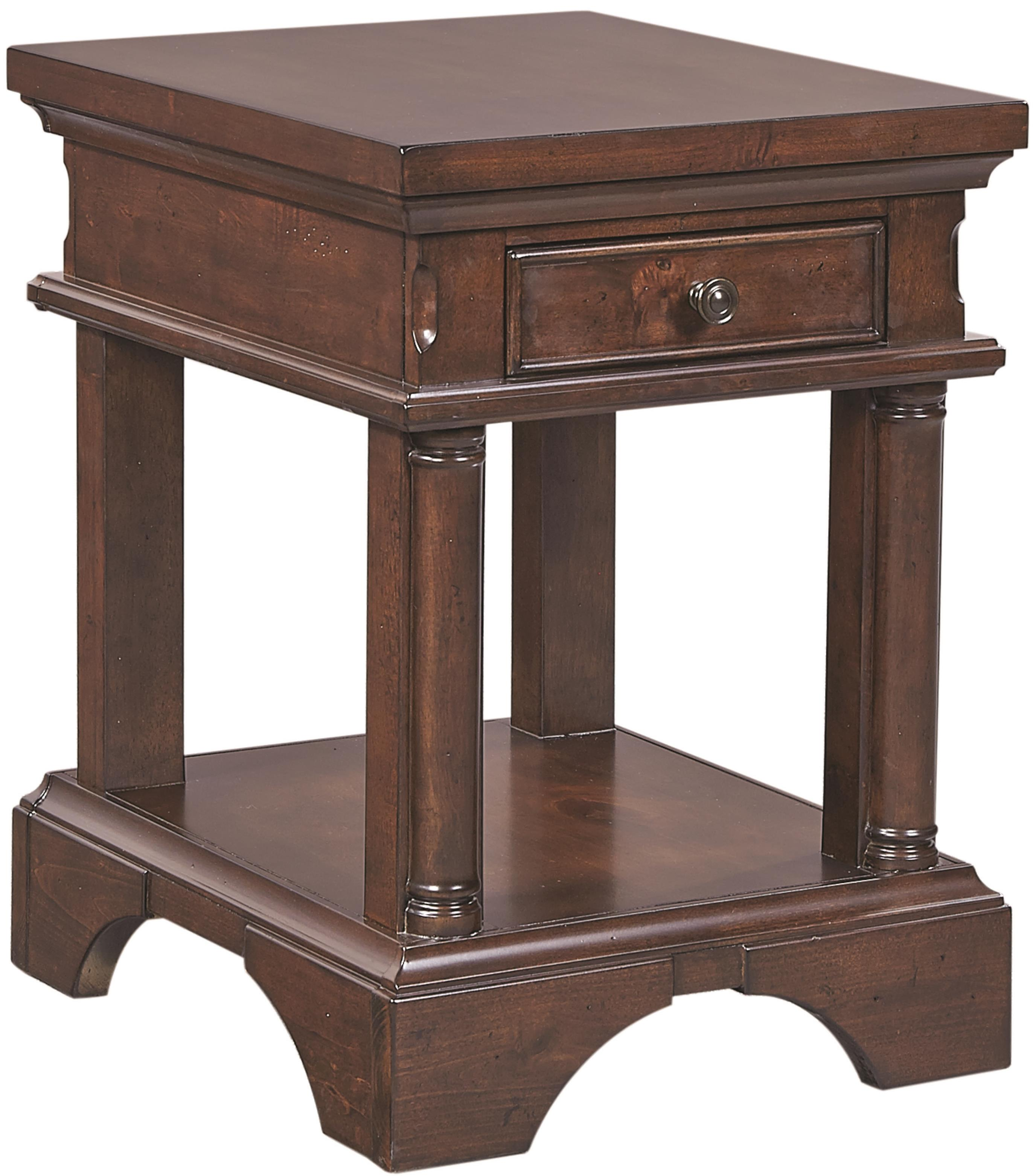 Aspenhome Bancroft Chairside Table with Power - Item Number: I08-9130