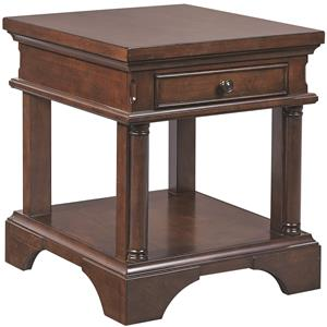 Aspenhome Bancroft End Table with Power
