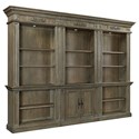 Aspenhome Belle Maison Bookcase Combination - Item Number: I94-332+2x333