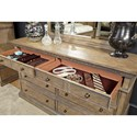 Aspenhome Belle Maison 8 Drawer Dresser with Jewelry Tray