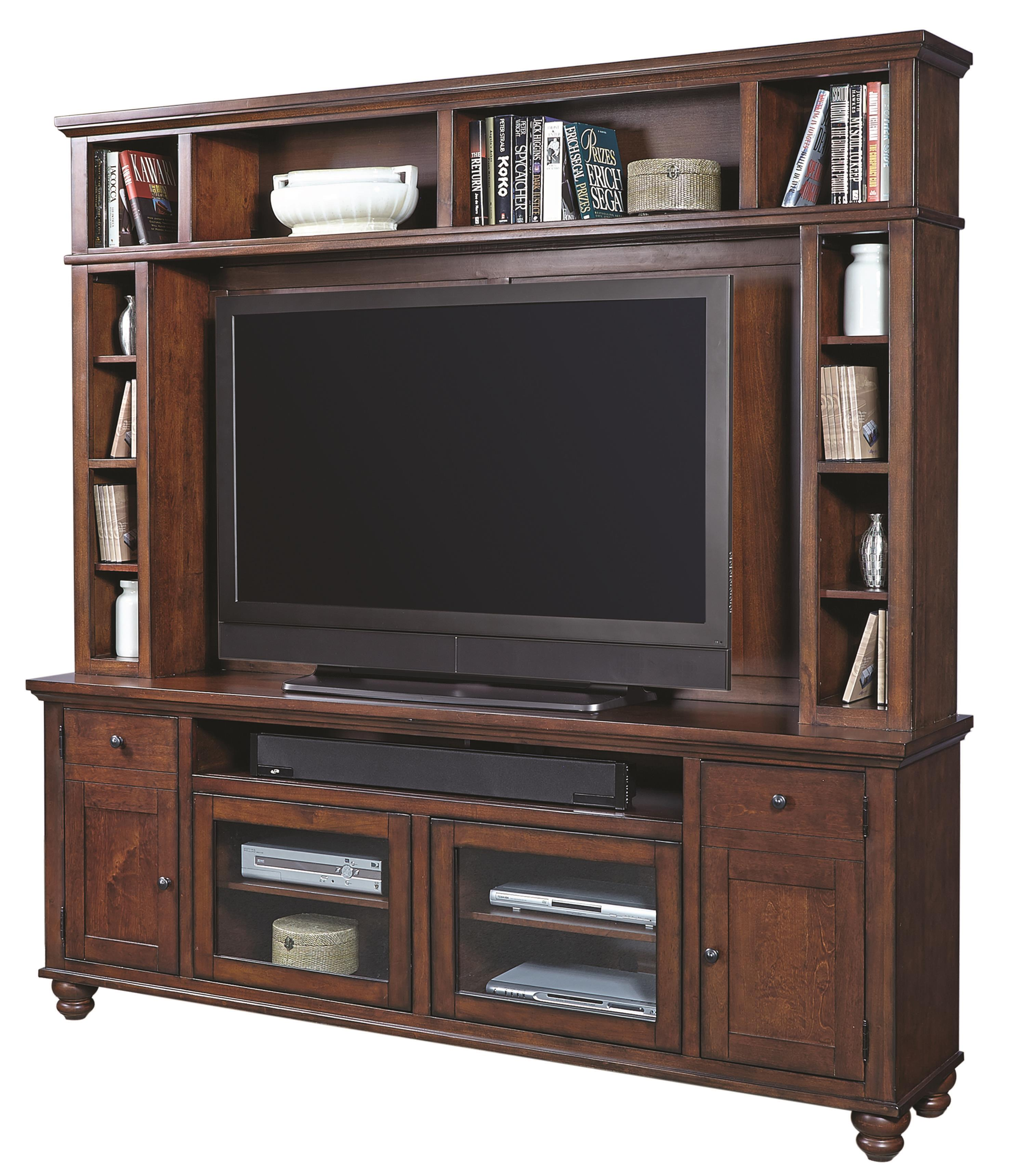 """Morris Home Furnishings Clinton Clinton 85"""" Console & Hutch - Item Number: 256247644"""