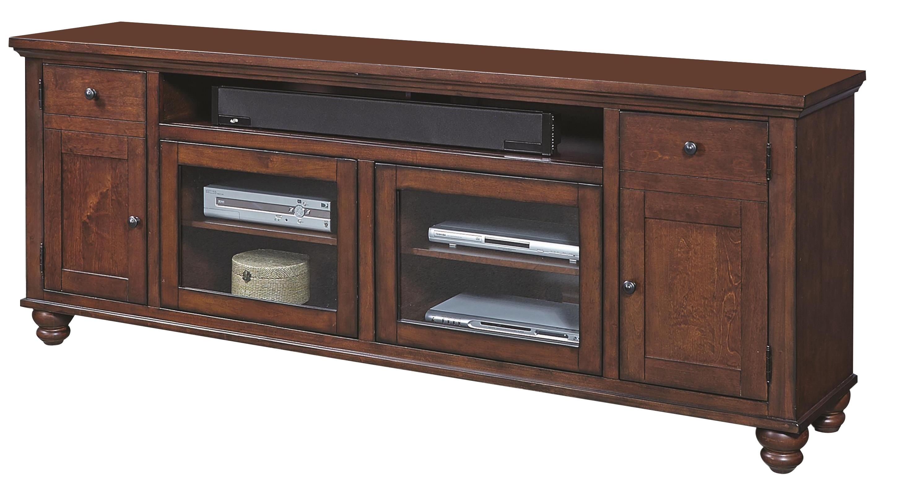 """Morris Home Furnishings Clinton Clinton 85"""" Television Console - Item Number: 340800449"""