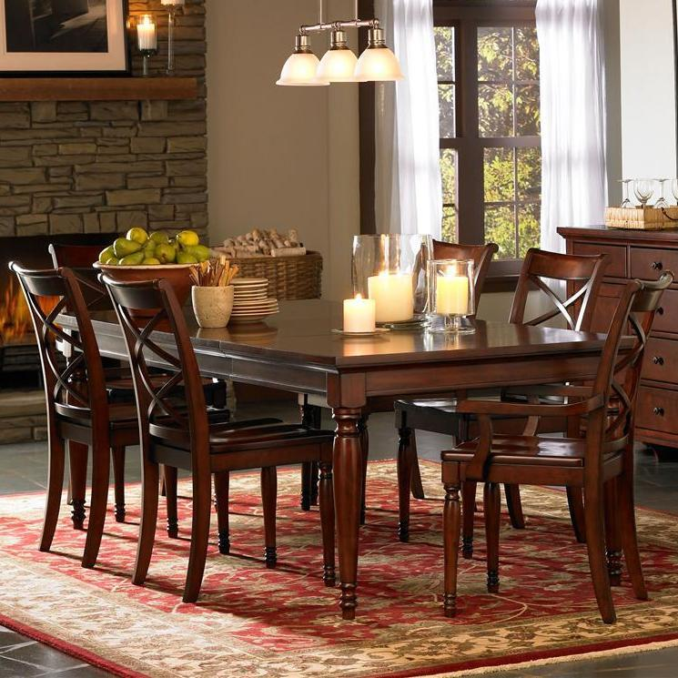 Morris Home Furnishings Clinton Clinton 5-Piece Dining Set - Item Number: 358222760