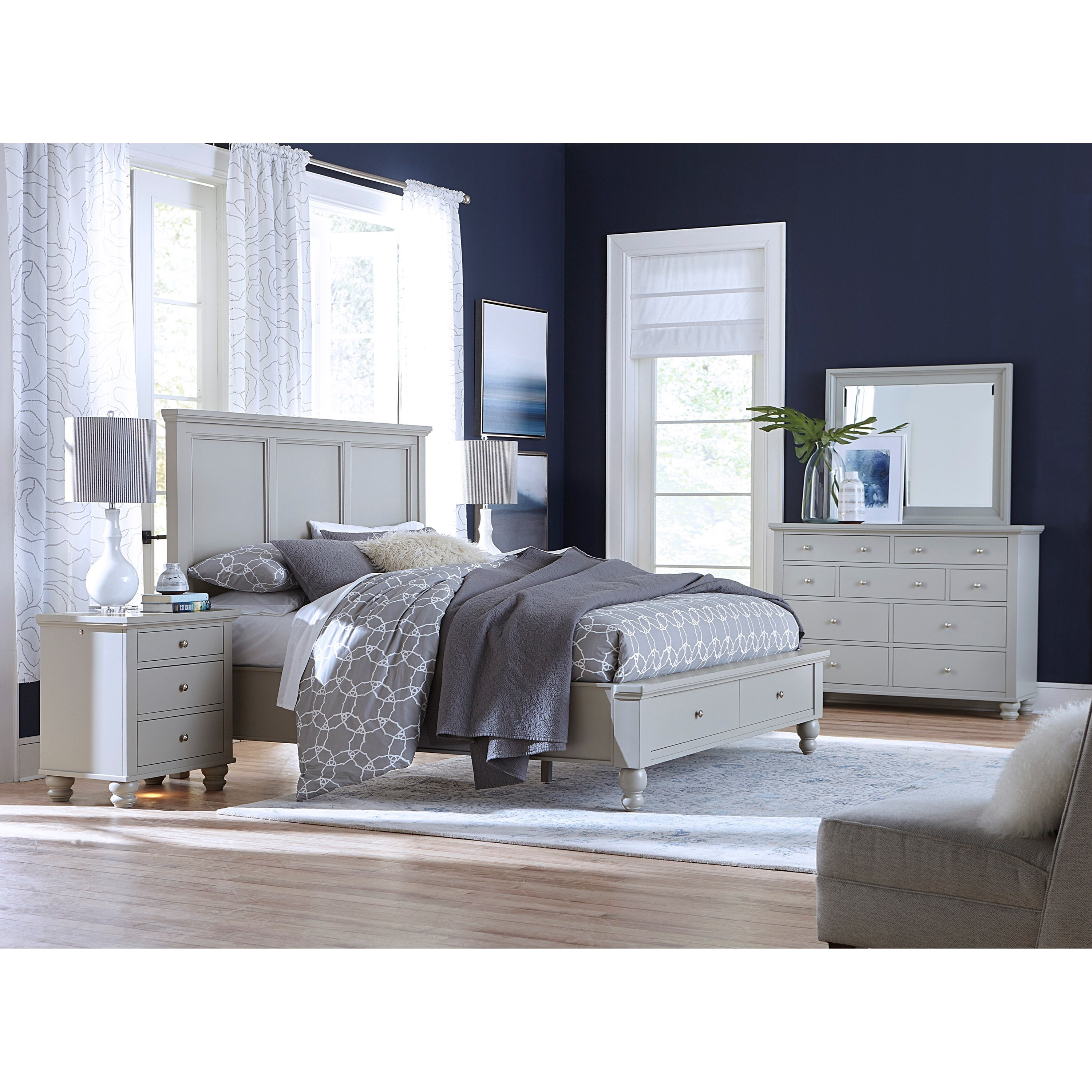 Cambridge King Bedroom Group by Aspenhome at Baer's Furniture