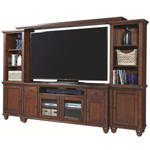 "Morris Home Furnishings Clinton 75"" Entertainment Wall"