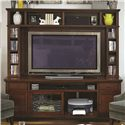 "Aspenhome Cambridge 85"" Console and Hutch - Item Number: ICB-284-BCH+284H-BCH"