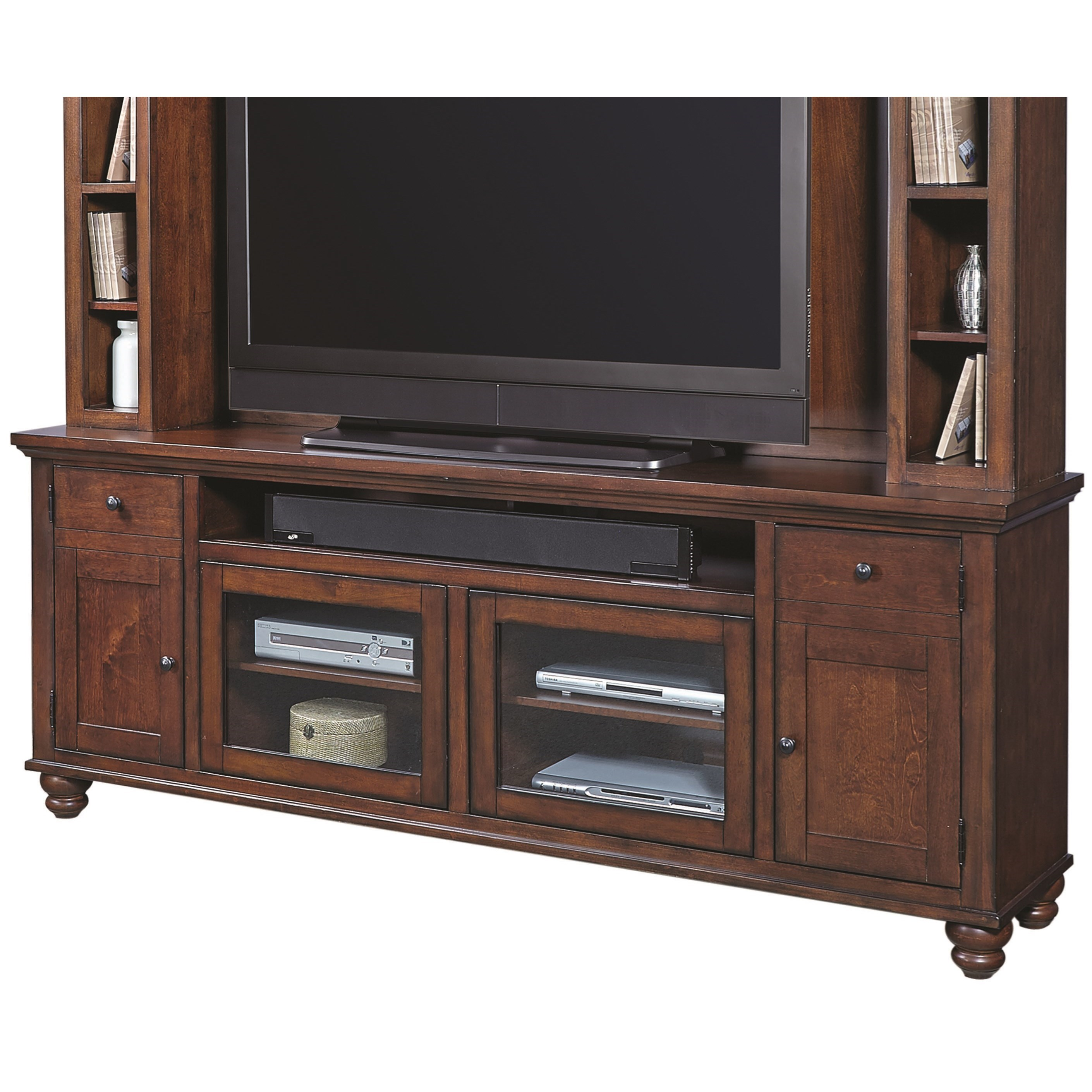 "Aspenhome Cambridge 85"" Console - Item Number: ICB-284-BCH"