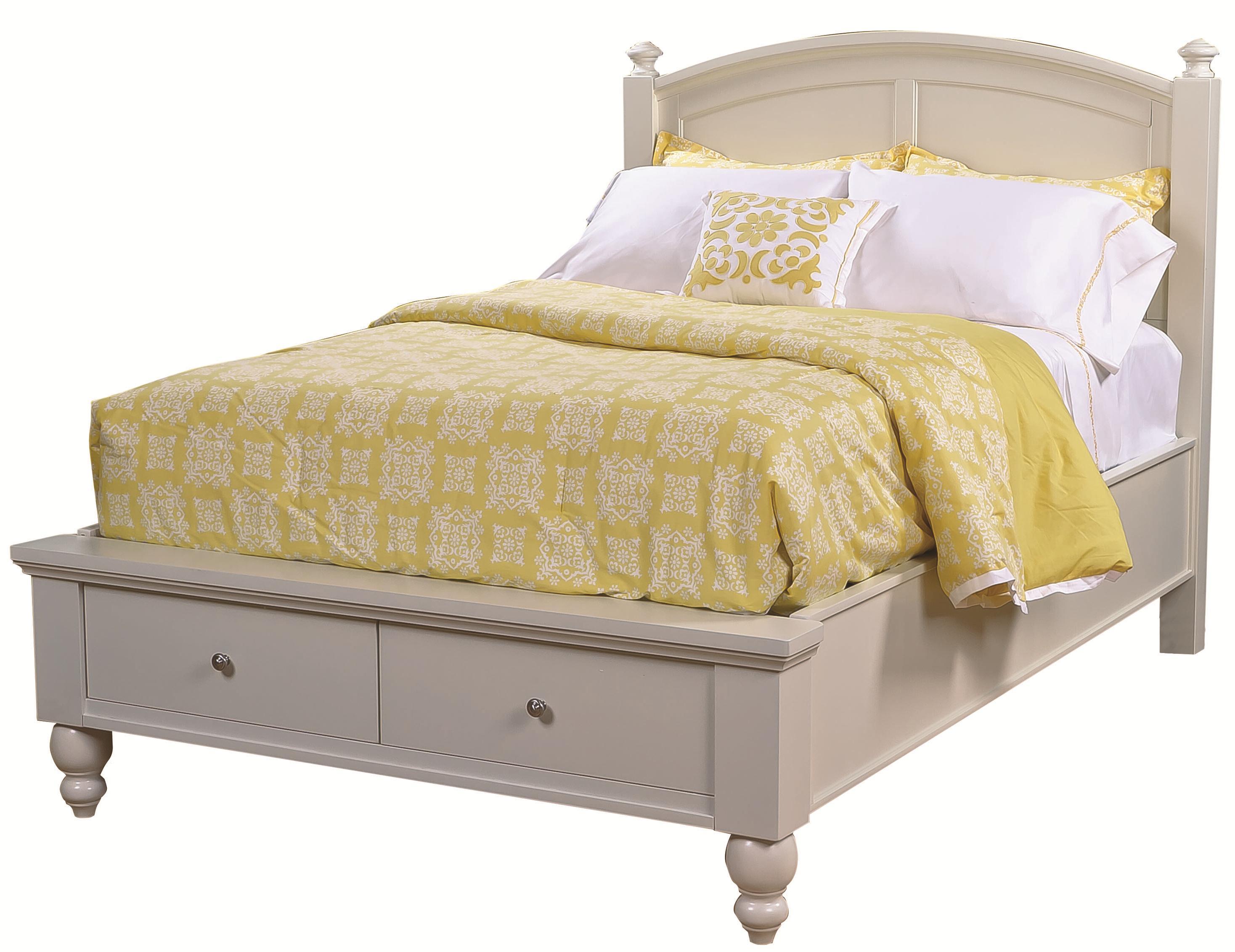 Aspenhome Cambridge King Panel Storage Bed - Item Number: ICB-415+407D+406L-EGG