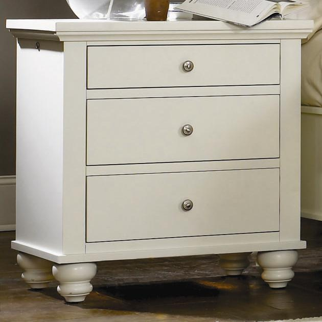 Aspenhome Cambridge Liv360 Night Stand - Item Number: ICB-450-EGG